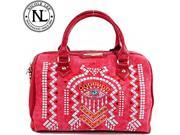 Nicole Lee Ramsha Stud Detailed Boston Bag