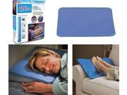 Chillow Cooling Pillow Pad Device Insert Comfort Sleeping Therapy AS SEEN ON TV