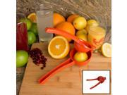 Evelots Hand Held Citrus Press - Lemon Lime Orange Juice Press - Assorted Colors