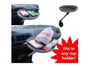 Evelots Automobile Swivel Tray Car Truck Food Snacks Electronics Cup Holder