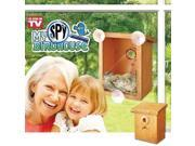Hampton Direct My Spy Bird House Window Decoration, Garden, Home, Kids Birdhouse