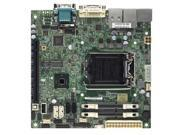 Supermicro X10SLV-Q Desktop Motherboard - Intel Q87 Express Chipset - Socket H3 LGA-1150 - Bulk Pack