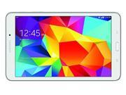 """Samsung Galaxy Tab 4 SM-T337A 16 GB Tablet - 8"""" - Plane to Line (PLS) Switching - Wireless LAN - AT&T - 4G - 1.20 GHz - White"""