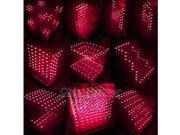 3D LightSquared DIY Kit 8x8x8 3mm LED Cube White LED Red Ray DIY Kit