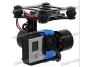DJI Phantom Brushless Gimbal Camera Frame+2*Motors +Controller Gopro3 xiaoyi FPV