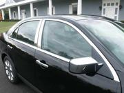 2006-2012 Lincoln MKZ 10pc. Luxury FX Chrome Window Package