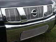 2004-2007 Nissan Armada 4pc. Luxury FX Chrome Grille w/Bottom Billet