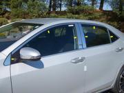 2014 Toyota Corolla 14p Luxury FX Chrome Window Package (w/Posts, w/o Sill)