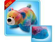 """Authentic Pillow Pets Bear Peaceful Large 18"""" Plush Toy Gift"""
