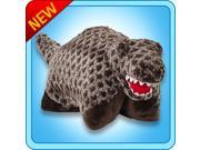 """Authentic Pillow Pets Dinosaur Dino Brown T-REX Small 11"""" Plush Toy Gift"""