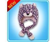 Authentic Pillow Pets Leopard Hat Plush Toy Gift