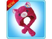 Authentic Pillow Pets Power Flower Cat Hat Plush Toy Gift