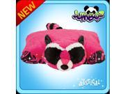 "Authentic Pillow Pets Mystical Raccoon Huge XXL 30"" Jumbo Plush Toy Gift"