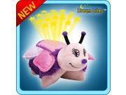 Authentic Pillow Pets Purple Butterfly Dream Lites Toy Gift