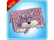 Authentic Pillow Pet Lulu Leopard Blanket Plush Toy Gift