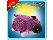 Authentic Pillow Pets Purple and Black Zany Zebra Dream Lites Toy Gift