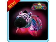 "Authentic LED Zebra Pillow Pets Glow Pets Large 17"" Toy Gift"