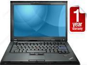 "REFURBISHED: Lenovo Thinkpad T400 - 2.26GHz (p8400) - 4GB - 128GB SSD - DVDRW  - 14.1"" Screen - Win 7 Home Premium 64bit - AC Adapter - 1 YEAR WARRANTY"