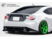2013-2014 Scion FR-S Subaru BRZ Carbon Creations GT Concept Rear Bumper Cover - 1 Piece