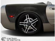 1997-2004 Chevrolet Corvette Convertible Z06 Carbon Creations ZR Edition Rear Fenders - 2 Piece
