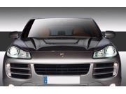 2003-2010 Porsche Cayenne Carbon Creations Eros Version 2 Hood - 1 Piece