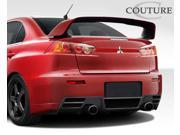 2008-2014 Mitsubishi Lancer Evolution 10 Couture C-Speed Rear Bumper Cover - 1 Piece