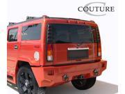 2003-2009 Hummer H2 Couture Vortex Wide Body Rear Bumper - 1 Piece