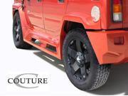 2003-2009 Hummer H2 Couture Vortex Wide Body Rear Fender Flares - 2 Piece