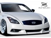 2008-2014 Infiniti G Coupe G37 Q60 Duraflex IPL Look Front Bumper Cover - 1 Piece