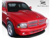 1997-2004 Dodge Dakota Durango Duraflex Cowl Induction Hood - 1 Piece