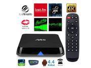 DroidPlayer M8 Quad Core Android (Kit Kat 4.4) TV Box Streaming Media Player