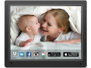Nixplay W12A 12 inch Wi-Fi Cloud Digital Photo Frame. iPhone & Android App, Email, Facebook, Dropbox, Instagram, Picasa