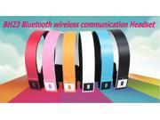 The BH23 wireless Bluetooth communication Headset mini sports headset Bluetooth music Headset binaural stereo surround sound