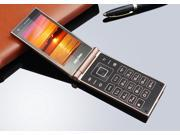 "Flip phone Android WiFi smart Mobile phone Dual 3.5"" IPS Screen MTK6572 Dual core WCDMA 3G cell phone Business affairs phone"