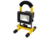 Portable Rechargeable Cordless LED Work Light Flood Light - Durable Waterproof Emergency Light Trouble Light w/ Stand for Car Traveling Camping Fishing - 6000K Daylight 400-450LM - Waterproof IP-65 -