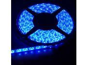 12V Light BLUE 16.4ft (5m) Flexible LED Strip Lights - Waterproof(IP-65) 3528 300LEDs/pc