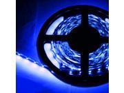 16.4ft (5m) BLUE Flexible LED Strip Lights - 3528 SMD 300LEDs/pc - Non-waterproof IP-44