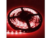 16.4ft (5m) RED Flexible LED Strip Lights - 5050 SMD 300LEDs/pc - Non-waterproof IP-44
