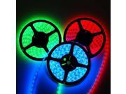 16.4ft (5m) RGB Waterproof Flexible LED Strip Lights - 5050 SMD 150LEDs/pc - Waterproof IP-65