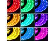 16.4ft (5m) RGB Multi-color Flexible LED Strip Lights - 5050 SMD 150LEDs/pc - Non-waterproof IP-44