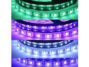 16.4ft (5m) RGB Color-changing Waterproof Flexible LED Strip Lights - 5050 SMD 300LEDs/pc LED Light Strip - Multifunctional LED Tape Light