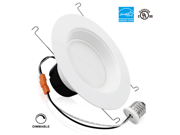 19Watt 6-inch Wet Location Available Retrofit LED Recessed Lighting Fixture - Dimmable 5000K Daylight ENERGY STAR UL-listed LED Ceiling Light - 1200LM 120W Equivalent Recessed Downlight