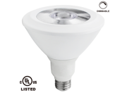 18W Dimmable PAR38 LED Bulb - 5000K Daylight 100W Equivalent UL-listed LED PAR38 Light Bulb - 1280LM 40 Degree Beam Angle for Stage, Scene, Event, Residential, Commercial, General Lighting
