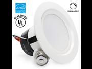 ENERGY STAR 12Watt Dimmable LED Recessed Lighting - 5000K Daylight LED Ceiling Light - AC120V Built-in Driver