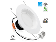 19Watt 6-inch Wet Location Available Retrofit LED Recessed Lighting Fixture - Dimmable 2700K Warm White ENERGY STAR UL-classified LED Ceiling Light - 1200LM 120W Equivalent Recessed Downlight