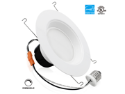 19Watt 6-inch Wet Location Available Retrofit LED Recessed Lighting Fixture - Dimmable 5000K Daylight ENERGY STAR UL-classified LED Ceiling Light - 1200LM 120W Equivalent Recessed Downlight