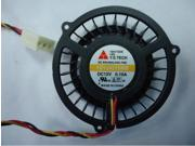 Y.S.TECH 4515 YD124515MB Cooling Fan with 12V 0.15A 3 Wires For X48 P5E3 motherboard