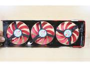 3pcs Cooling fan with black frame For ATI Radeon HD7990