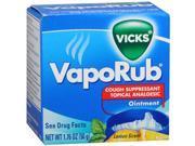 Vicks VapoRub Ointment Lemon Scent - 1.76 oz. jar