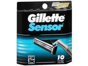 Gillette Sensor Cartridges - 10 ct
